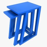 max plastic nested stool