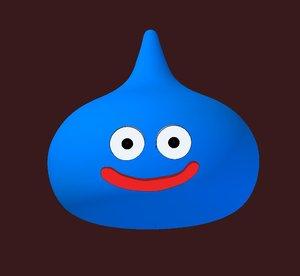 free slime 3d model