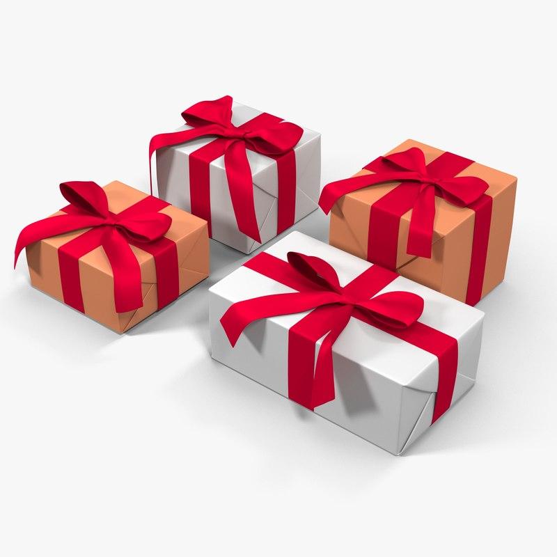 max gift boxes white