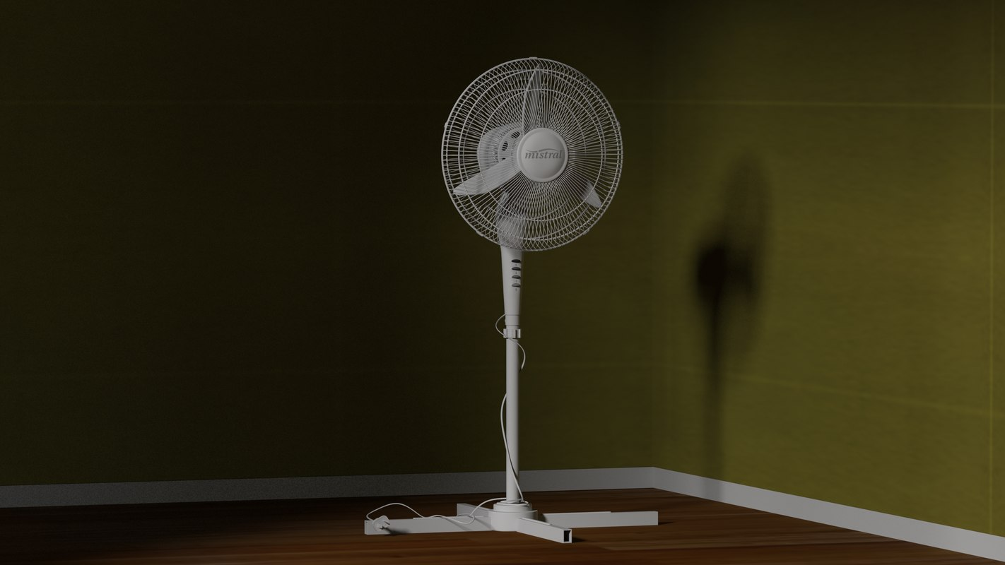 3d model fan daniele interior