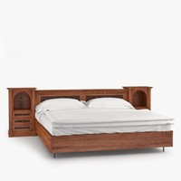 annibale colombo g1214 bed 3d model