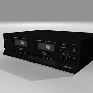 cassette player recorder c4d