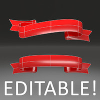 3d customizable ribbon -