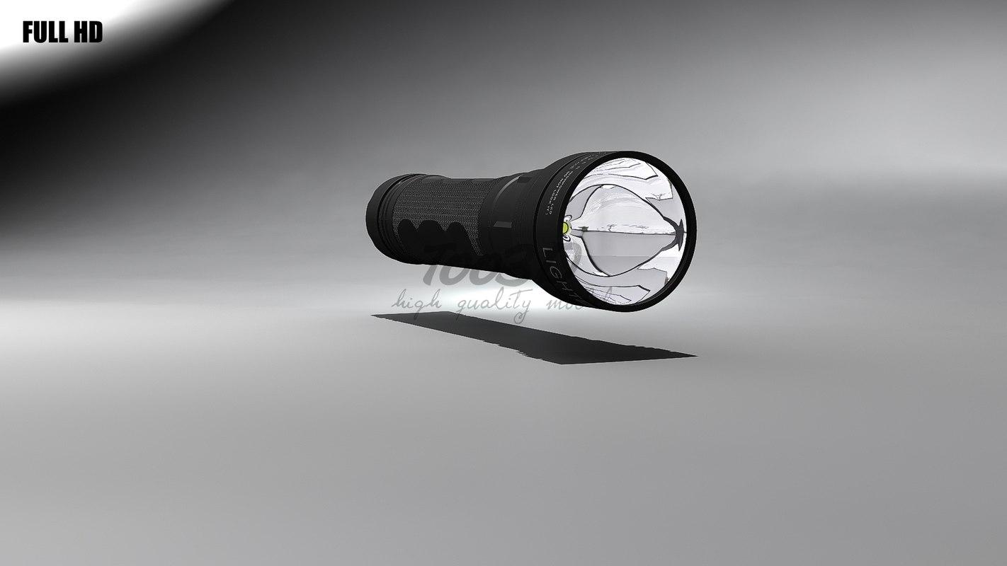 3d model tactical cone batteries
