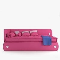 3d 3ds photorealistic bonaldo candy bed
