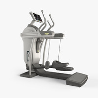 technogym excite vario 3d model