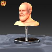 3d modeled human model
