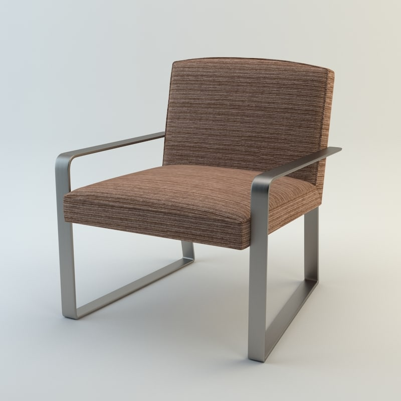 3ds max baker ironage chair