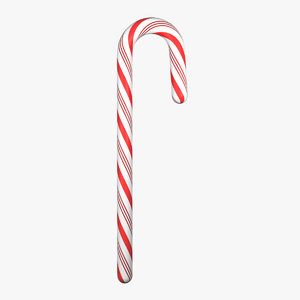 candy cane obj