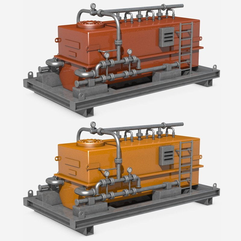 c4d industrial equipment