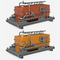 c4d industrial equipment