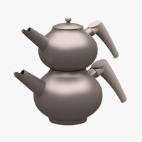 3d kitchen accessorie teapot model