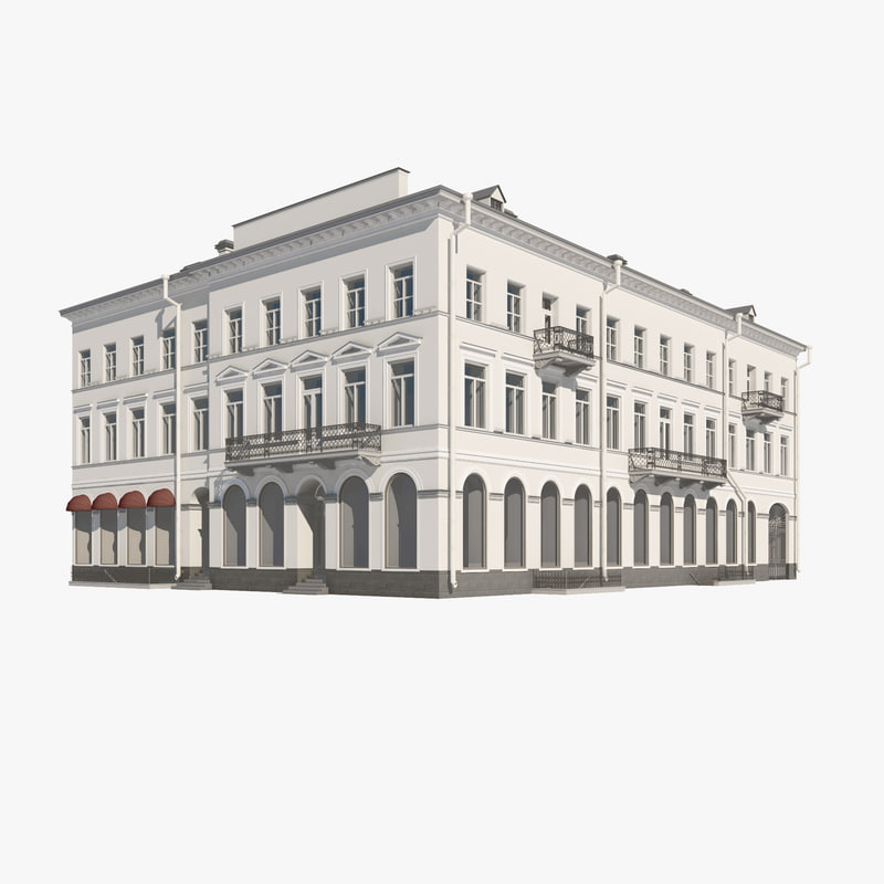 building europe european 3d max