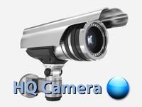 surveillance camera security 3d model