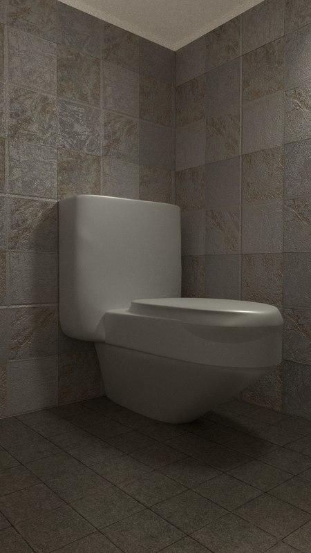 toilet obj free