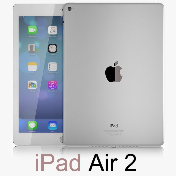 apple ipad air obj