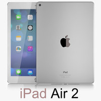 apple ipad air obj