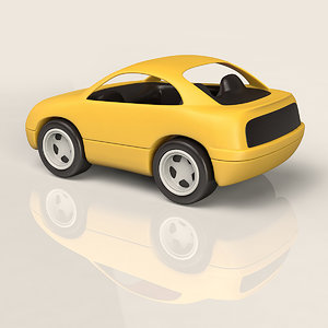 3dsmax plastic toy car