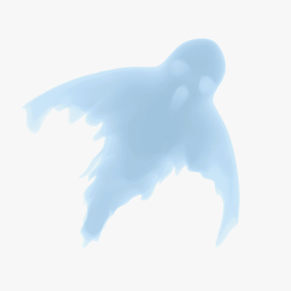3d ghost animation