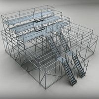 3d judge scaffolding