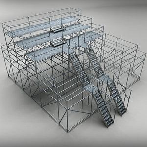 3d judge scaffolding