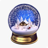 Snow Christmas Globe