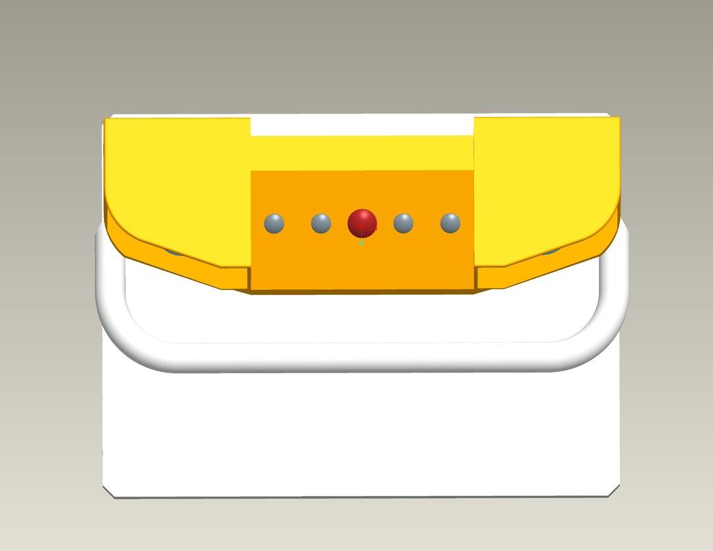 control panel element obj