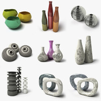decorative objects 3d 3ds