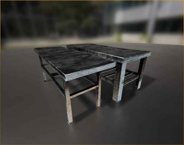 3d model morgue beds