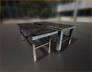 3d model morgue beds