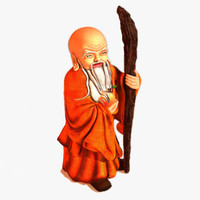 chinese buddhist shou xing 3d 3ds