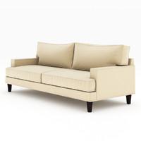 ramey sofa 02 3d model