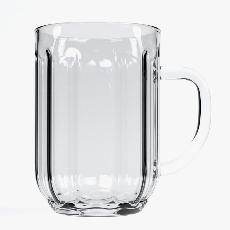 beer glass 3ds