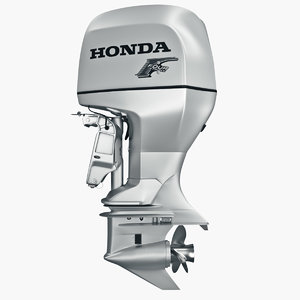 3d engine honda bf 225