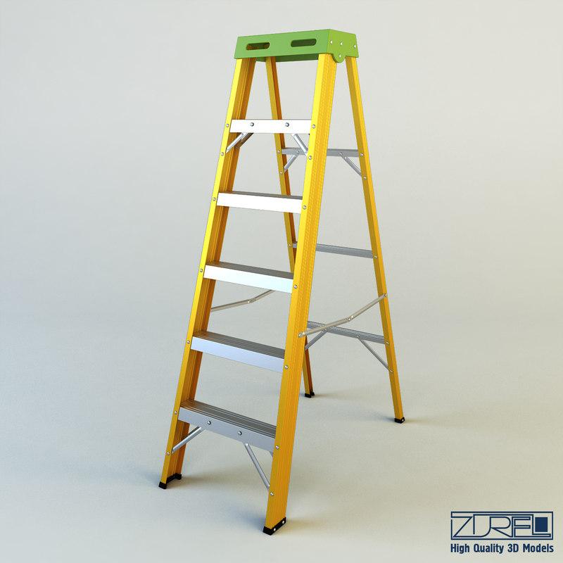 3d model ladder industry
