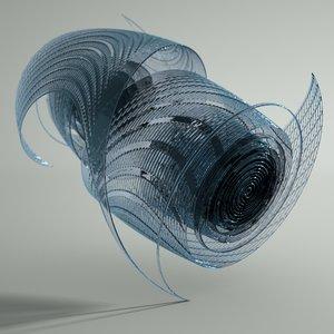 glass sculpture obj