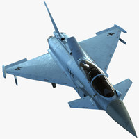 eurofighter typhoon 3d x
