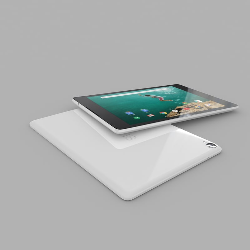 3d htc nexus 9 model
