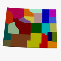 counties wyoming 3d 3ds