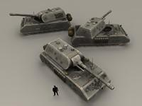 3ds maus tank