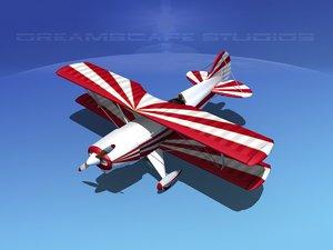 3ds propeller acro sport biplane