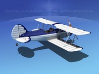 propeller acro sport biplane dxf