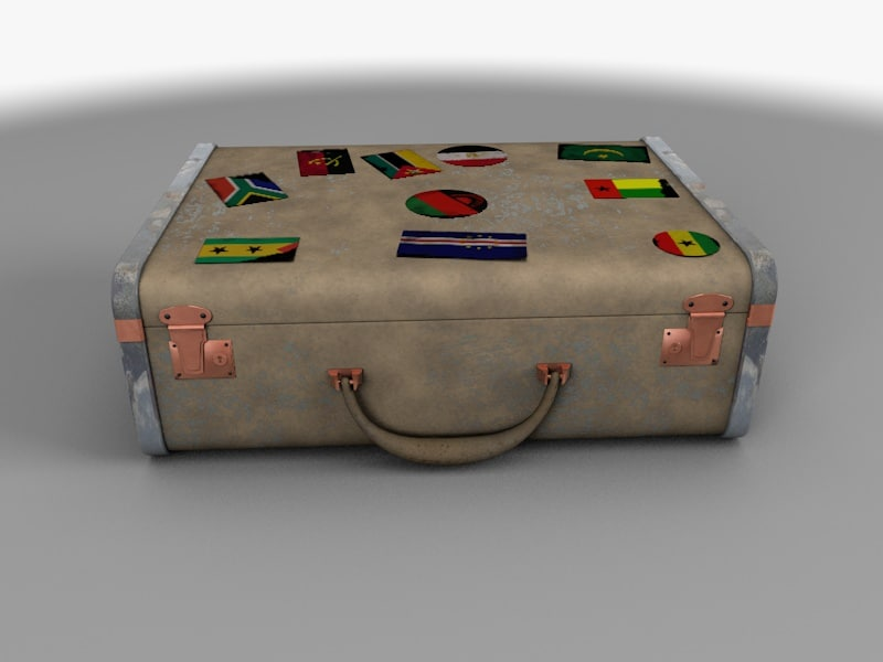baggage card c4d