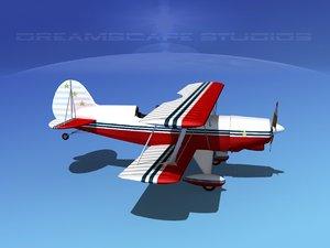 3d acro sport biplane v01