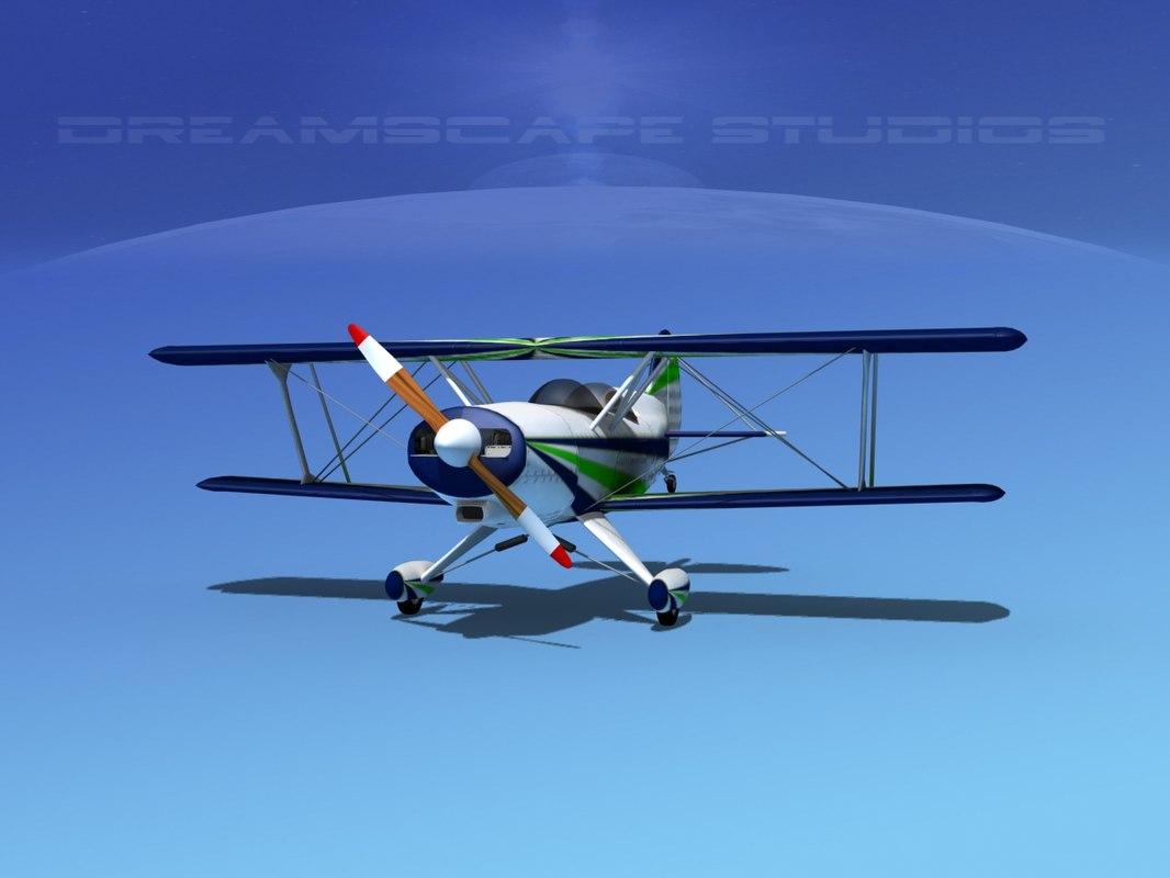 3d acro sport biplane ii
