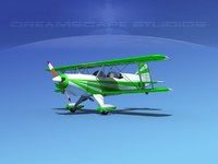 Acro Sport II Biplane V09