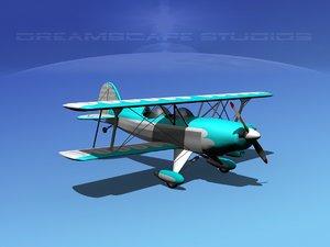 3d acro sport biplane ii model