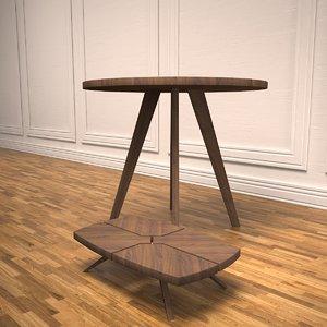 munjoy tables 3d model