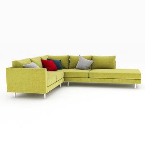 3d model vice sofa