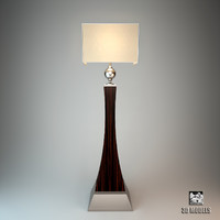 3d oak design lamp